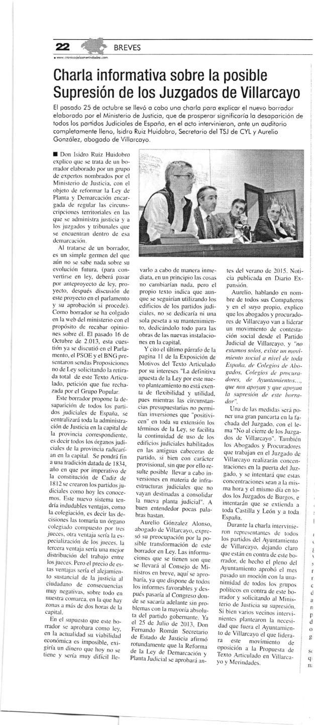 Cronica Merindades Noviembre 2013