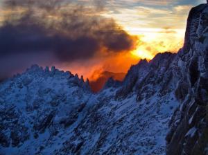 Instantánea ha sido la ganadora del concurso de fotografía de montaña de la prestigiosa Revista Peñalara