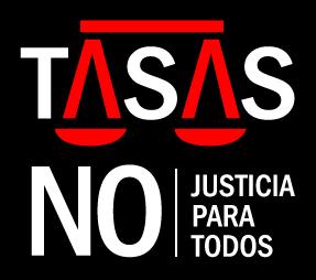 Tasas judiciales NO