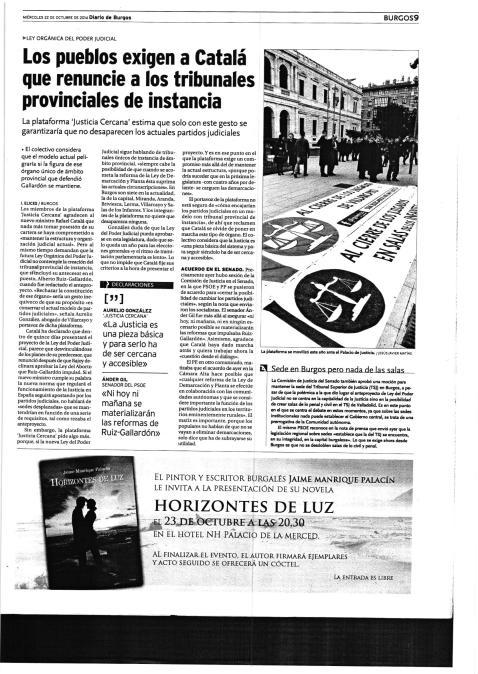 DIARIO DE BURGOS - 22/10/2014