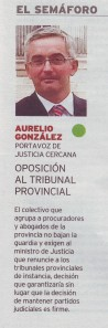 DIARIO DE BURGOS - 22/10/2014 (SEMÁFORO)